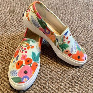 Floral Keds Women's 5/Girls 3